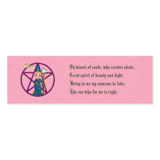 Love Spell Card Mini Business Card