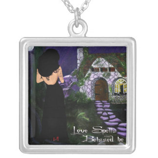 Love Spells Silver Plated Necklace