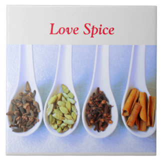 Love Spice PhtotoTile Tile
