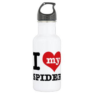love spider 18oz water bottle
