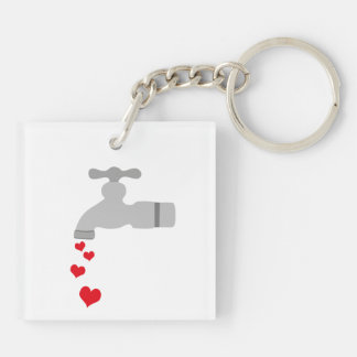 Love Spigot Acrylic Keychain