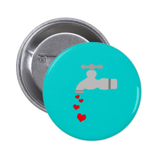 Love Spigot Pinback Button