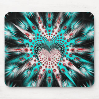Love Spikes Hypnotic Mouse Pad