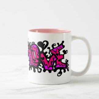 Love Splatter Mug