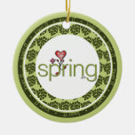 Love Spring Heart Ornament