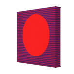 LOVE Square  Energy Pattern Gallery Wrapped Canvas