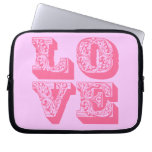 LOVE Square Laptop Computer Sleeves