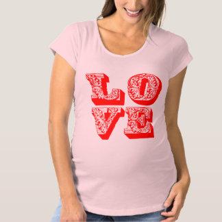 LOVE Square Maternity T-Shirt