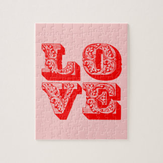 LOVE Square Jigsaw Puzzle