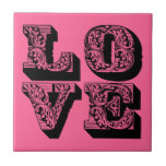 LOVE Square Tile