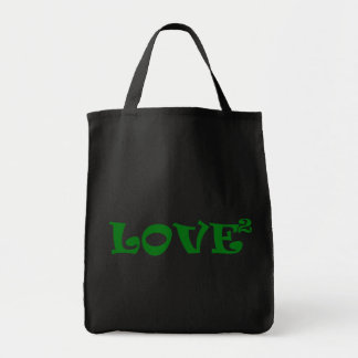 Love Squared in Green Bags