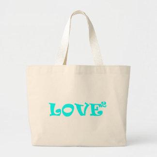 Love Squared in Light Blue Bag