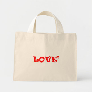 Love Squared in Red Bags