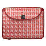 LOVE Squares Sleeve For MacBook Pro