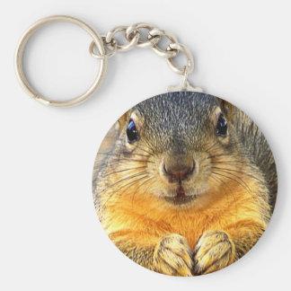 Love Squirrel_ Keychain