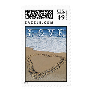Love Stamp - Beach Heart