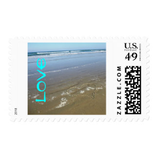 LOVE STAMP FOR BEACH LOVERS WEDDING INVITATIONS!