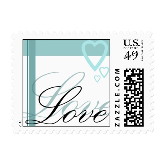 LOVE stamp for weddings and invitations