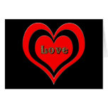 love stamp greeting card