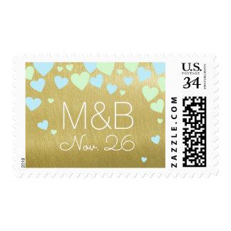 love stamp to send wedding invitation
