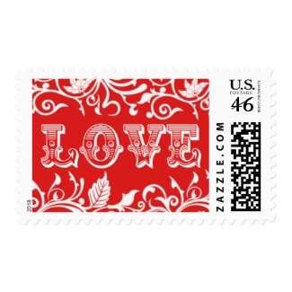 Love Stamps | For Wedding Or Valentine's Day