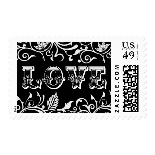 Love Stamps | Wedding Stamps | Black And White