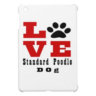 Love Standard Poodle Dog Designes iPad Mini Cases