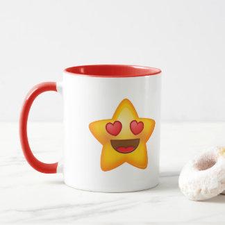 Love Star Emoji Mug