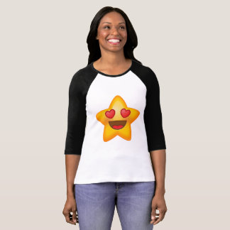 Love Star Emoji T-Shirt