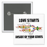 Love Starts Inside Of Your Genes (DNA Replication) Pins