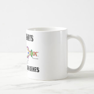 Love Starts Inside Of Your Genes (DNA Replication) Coffee Mug