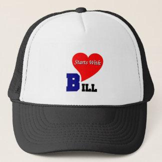 Love starts with Bill Trucker Hat