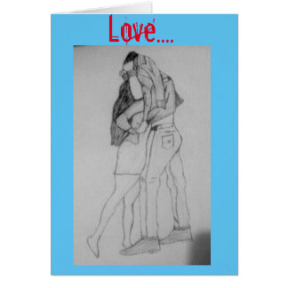 love stationery note card