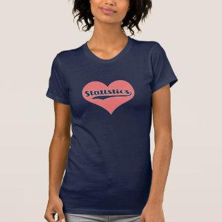 Love statistics t shirt