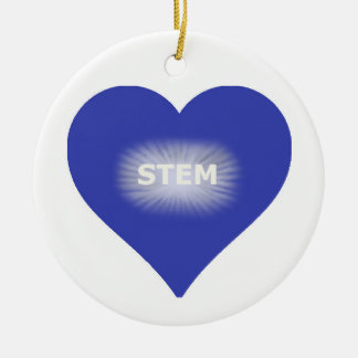 "Love ""STEM"" Ornament"