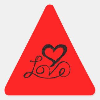 Love Triangle Stickers