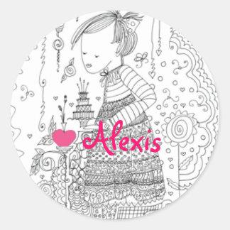 Love Stickers - Alexis - Envelope Seals