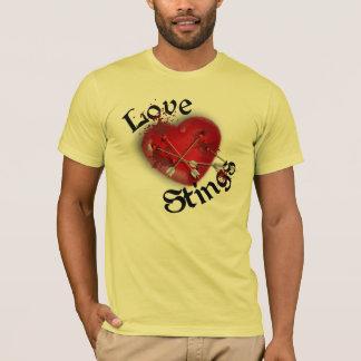 Love Stings Cupids Arrow Mens T-Shirt