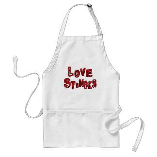 Love Stinks Adult Apron