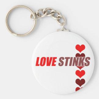 Love Stinks Anti Valentine's Day Key Chains