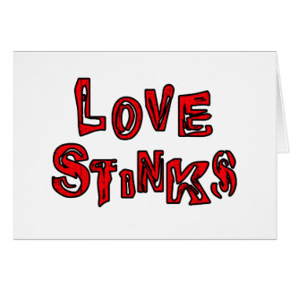 Love Stinks Cards