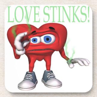 Love Stinks Coaster