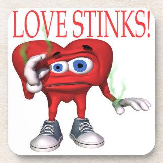 Love Stinks Drink Coasters