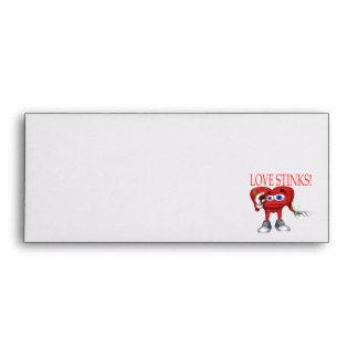 Love Stinks Envelope