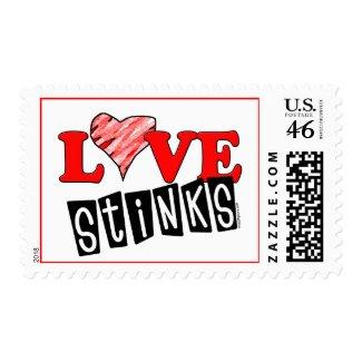 Love Stinks Gifts stamp