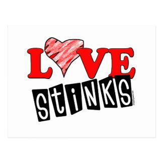 Love Stinks Gifts Postcard