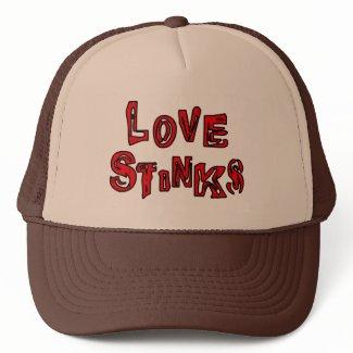 Love Stinks Hat hat