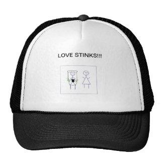 Love Stinks Trucker Hat