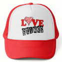 Love Stinks Hats for Valentine's Day hat