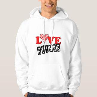 Love Stinks Hoodie for Valentine's Day